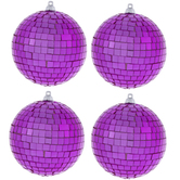 Pink Disco Ball Ornaments