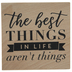 The Best Things Rubber Stamp