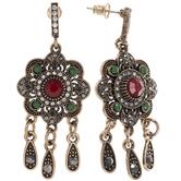 Vintage Look Drop Earrings