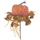 Pumpkin & Leaf Pick