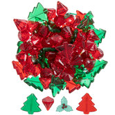 Red & Green Christmas Icons Filler