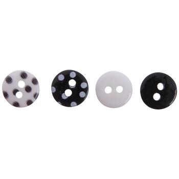 Mini Polka Dot Buttons - 8mm