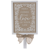 Love Of Your Life Wood Decor