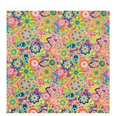 Lime & Pink Floral Gift Wrap