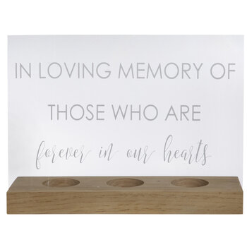 In Loving Memory Wood Decor