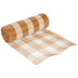 Orange & White Buffalo Check Deco Mesh Ribbon - 10