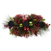Evergreen Ornament Candle Holder Centerpiece