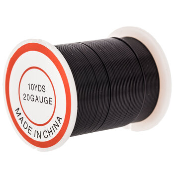Black Beading Wire - 20 Gauge