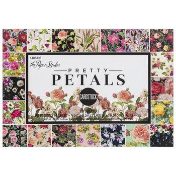 """Pretty Petals Cardstock Paper Pack - 4 1/2"""" x 6 1/2"""""""