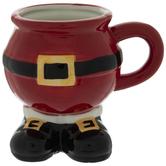 Santa Boots Mug