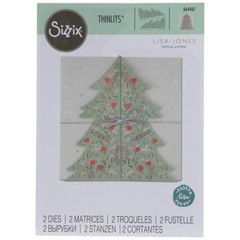 Sizzix Thinlits Christmas Tree Card Dies