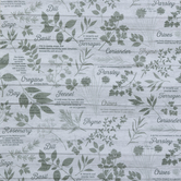 Herb Garden Duck Cloth Fabric
