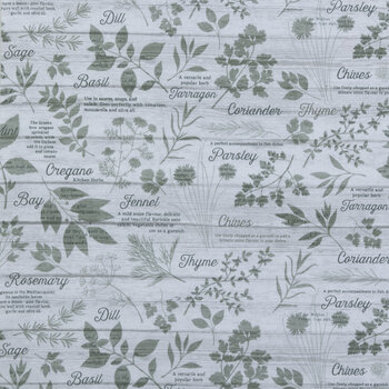 Herb Garden Duck Cloth Fabric
