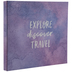 Explore Discover Travel Post Bound Scrapbook Album - 8