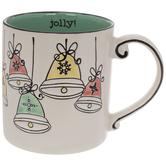 Jolly Vintage Bells Mug