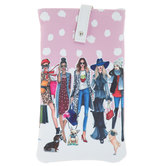 Ladies With Dogs Glasses Case