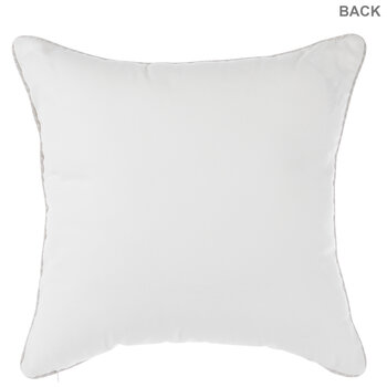 Live Simply Wreath Pillow
