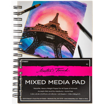Master's Touch Mixed Media Paper Pad