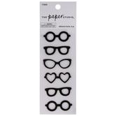 Black Glasses Stickers