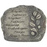 Always & Forever Garden Stone