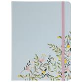 Blue & Pink Floral Journal