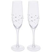 Rhinestone Toasting Glasses
