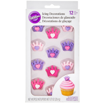 Crown Icing Decorations