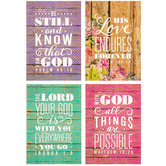 Wood Plank Encouragement Cards