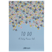 Floral Daily Planner Notepad