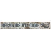 Mermaid Metal Sign