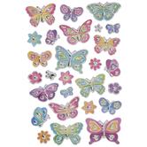 Butterflies & Flowers Foil Stickers