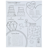 Wedding Coloring Sheets