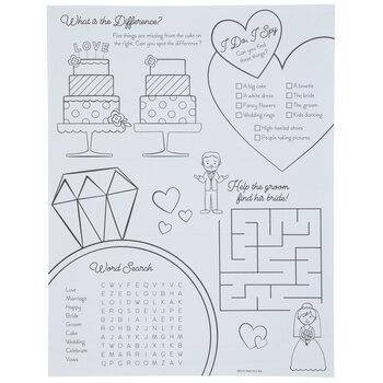 Wedding Coloring Sheets
