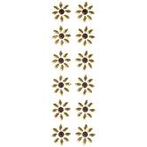 Sunflower Rhinestone Stickers