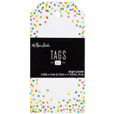 Bright Confetti Tags