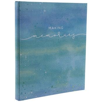 """Watercolor Memories Post Bound Scrapbook Album - 8 1/2"""" x 11"""""""
