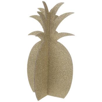 Gold Glitter Pineapple Centerpieces