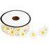 White & Yellow Daisy Trim - 7/8