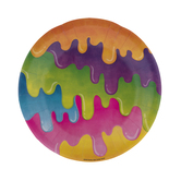 Slime Paper Plates - Small