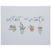 Collect Moments Canvas Wall Decor