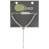 Beaded Slider Connector Bracelet