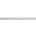 White & Gold Polka Dot Single-Face Satin Ribbon - 3/8