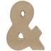 Paper Mache Ampersand - 4
