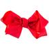 Red Grosgrain Bow Hair Clip - 6