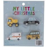 Work Vehicle Mini Ornaments