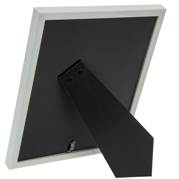 """White Frame With Mat - 5"""" x 7"""""""