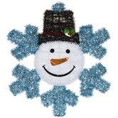 Snowman Snowflake Wall Decor