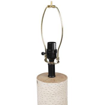 White Birch Lamp