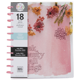 2021 - 2022 Big Pressed Floral Happy Planner - 18 Months