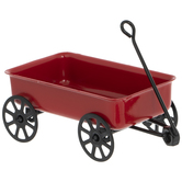 Miniature Red Wagon